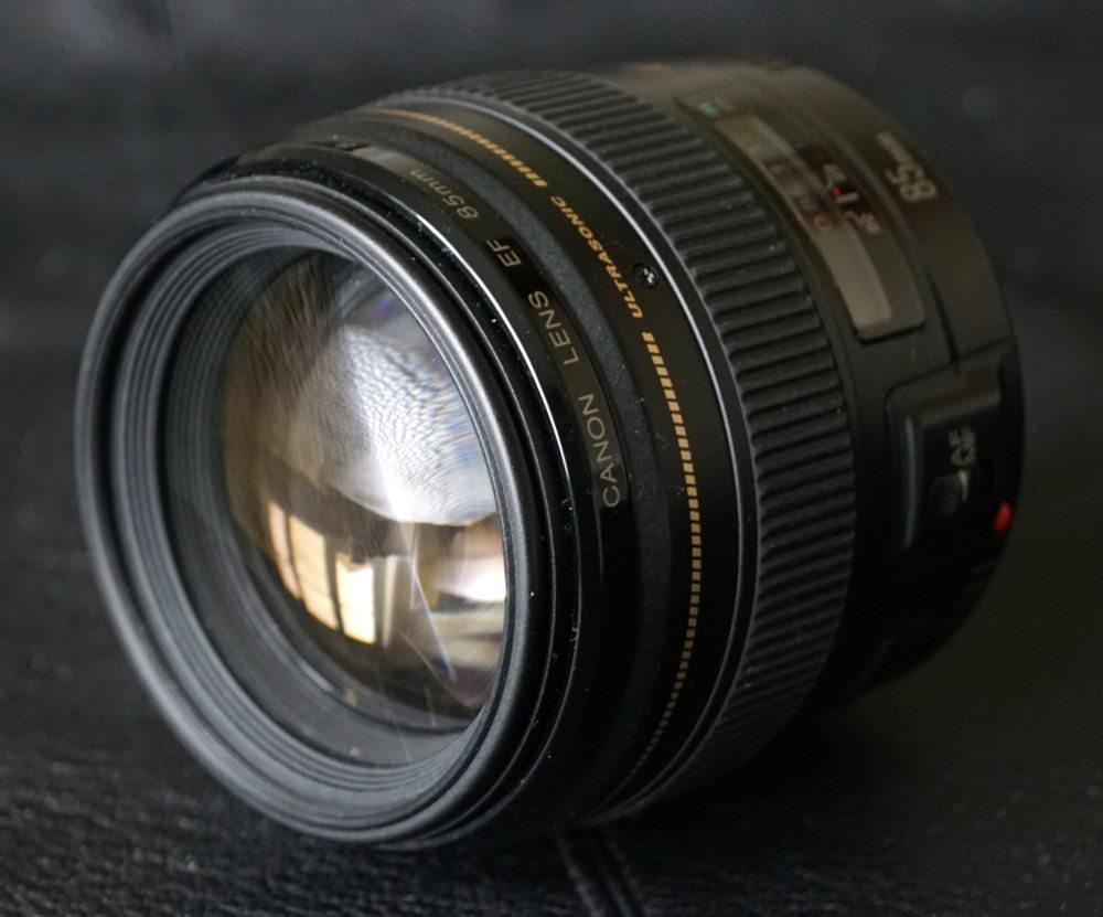 Canon EF 85mm F1 8 Lens (3)