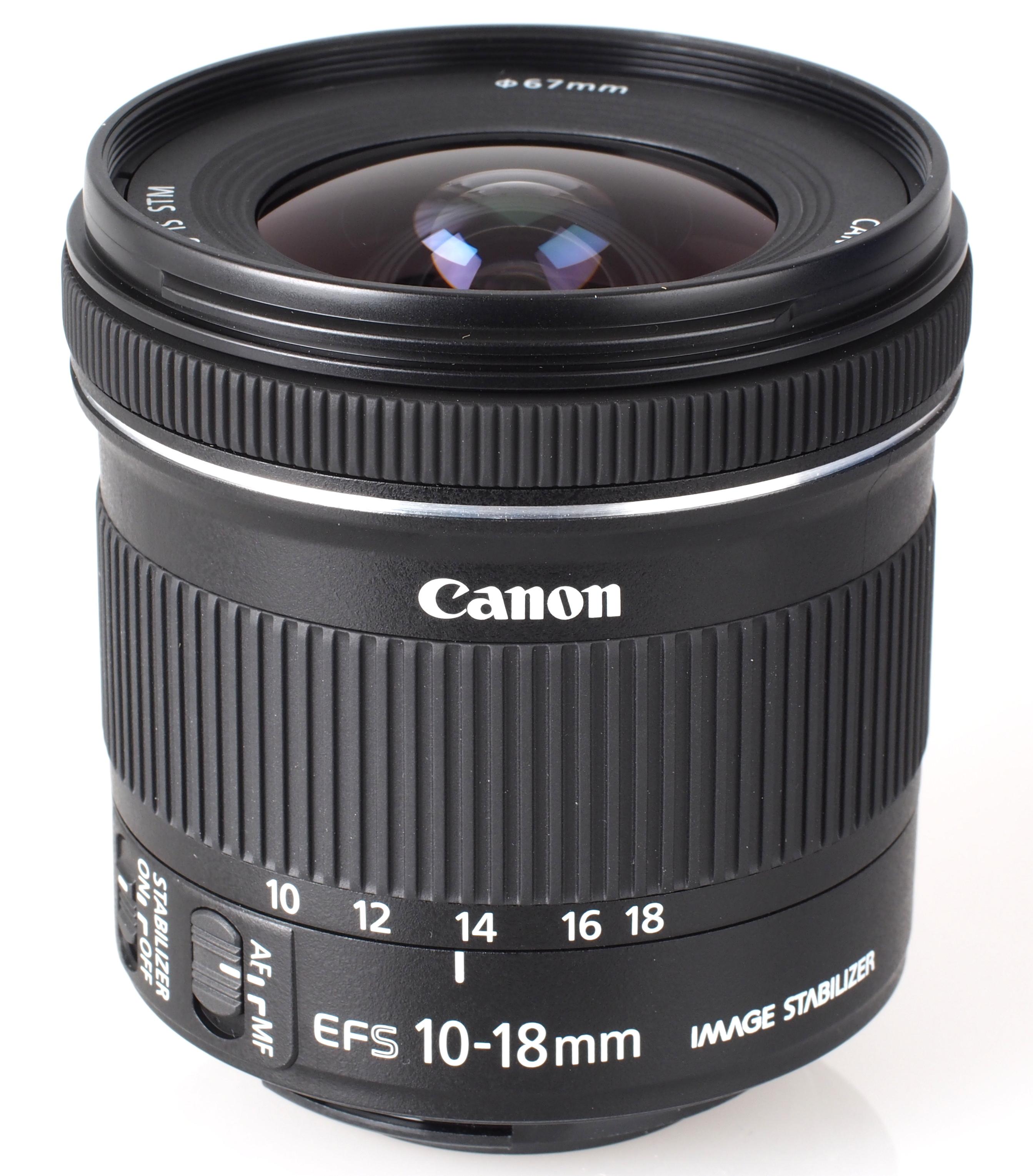 Canon  Câmeras  Lentes Zoom Grande Angular  EFS 10