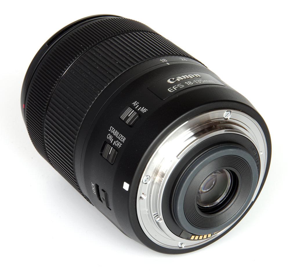 Canon Ef S 18 135mm Rear Oblique View