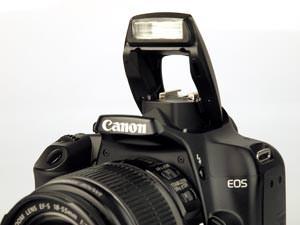 Canon EOS 1000D flash