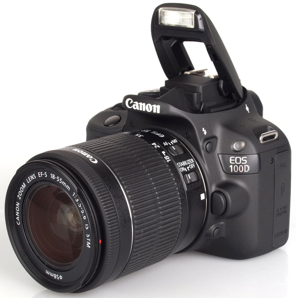 Canon Eos 100d With 18 55 Stm Lens (3)
