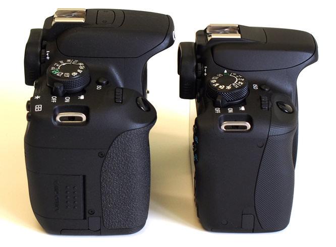 Canon Eos 100d Vs 700d Dslr