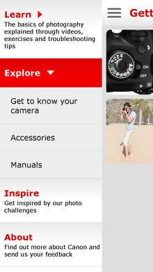Canon Eos Companion App 1200d