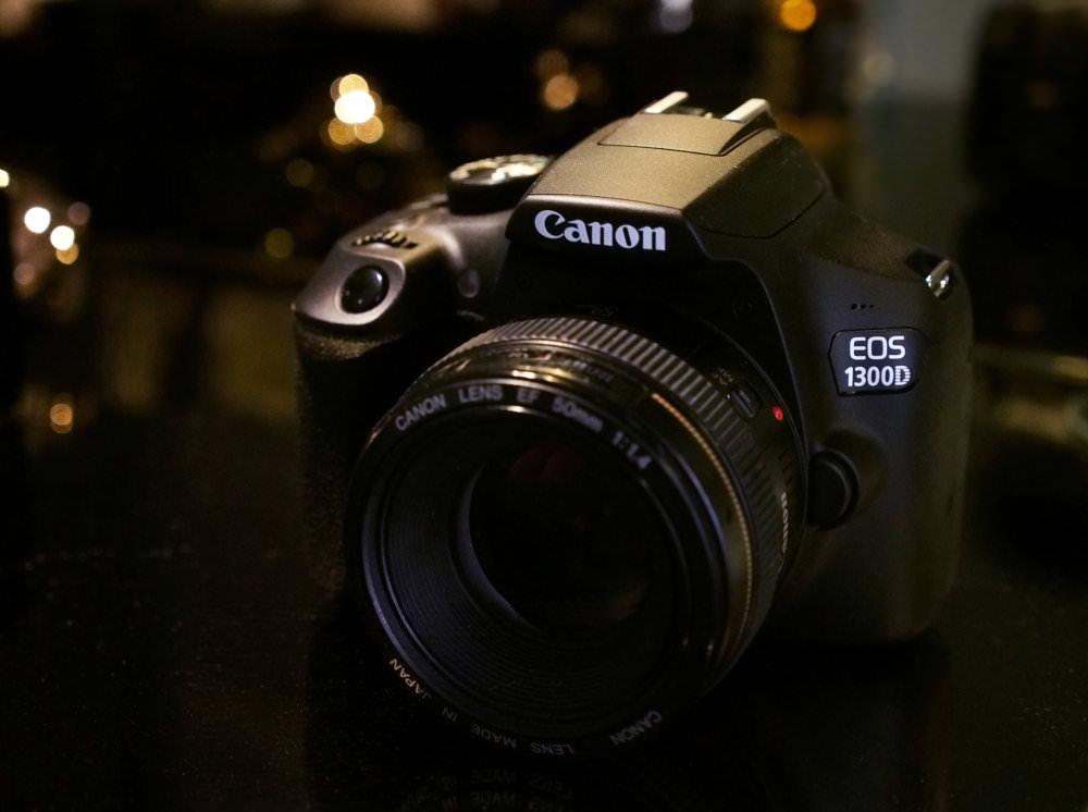 Canon EOS 1300D Low Key