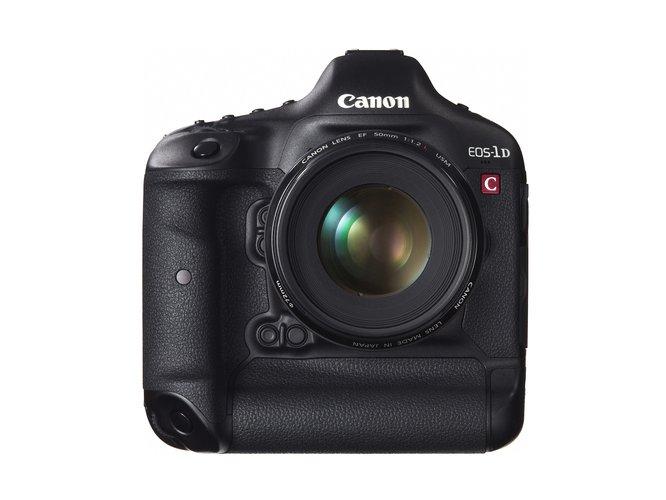 Canon EOS-1D C 50mm Front