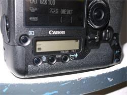 Canon EOS 1D MkIV LCD