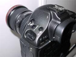 Canon EOS 1D MkIV top left