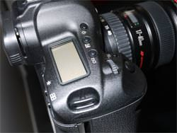 Canon EOS 1D MkIV top plate
