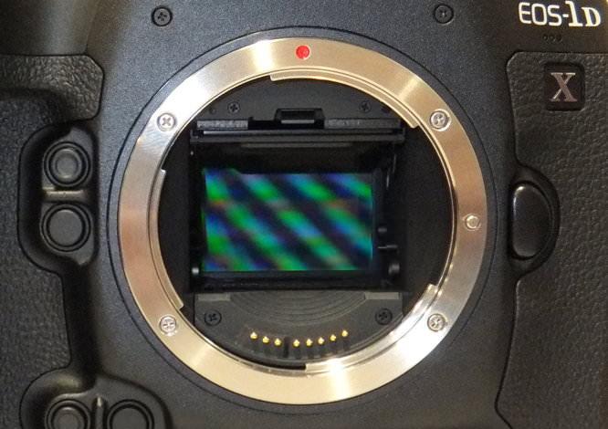Full Frame 18mp sensor