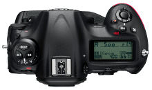 Nikon D5 Top Recropped