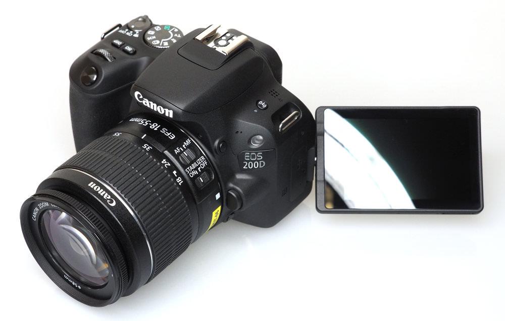 Canon EOS 200D Black (8)