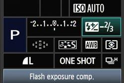 Canon EOS 50D screen