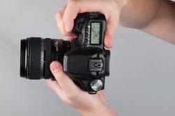 Canon EOS 50D top view