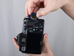 Canon EOS 50D vs Pentax K-7: Pentax card in