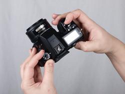 Canon EOS 50D vs Pentax K-7: Pentax top dials