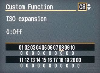 Canon Eos 5d Custom Menus