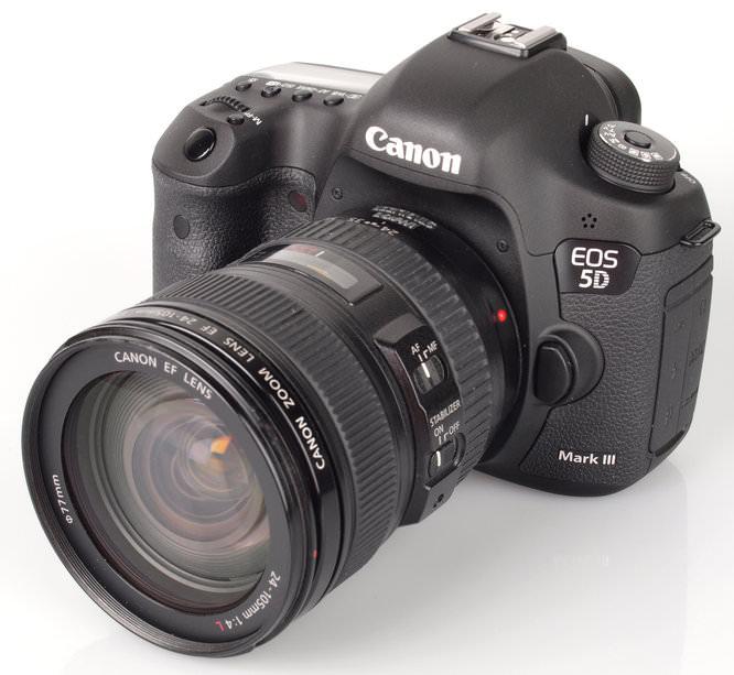Canon Eos 5d MarkIII-24-105mm L Lens