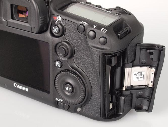 Canon Eos 5d MarkIII Memory Slots