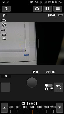 Canon Camera Connect Remote Shooting