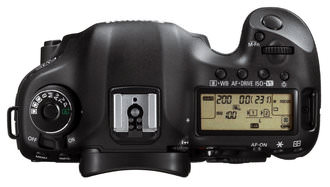 Canon EOS Mark III Top