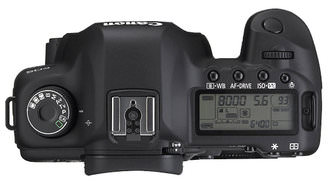 Canon EOS Mark II Top