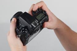 Nikon D700 top view