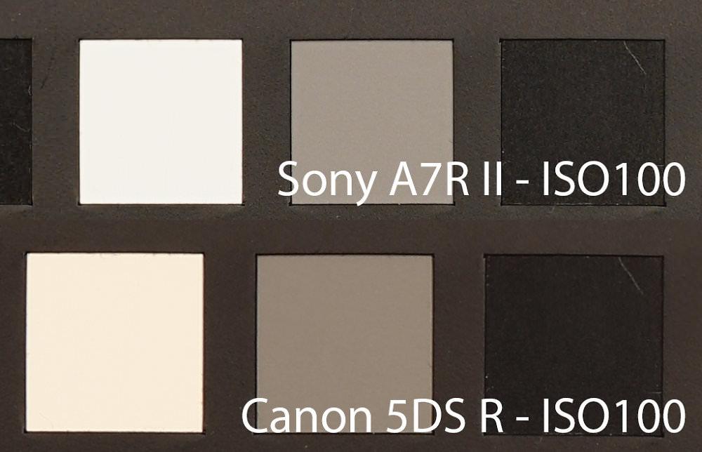 Sony Alpha A7r Ii Iso100 Canon Eos 5dsr