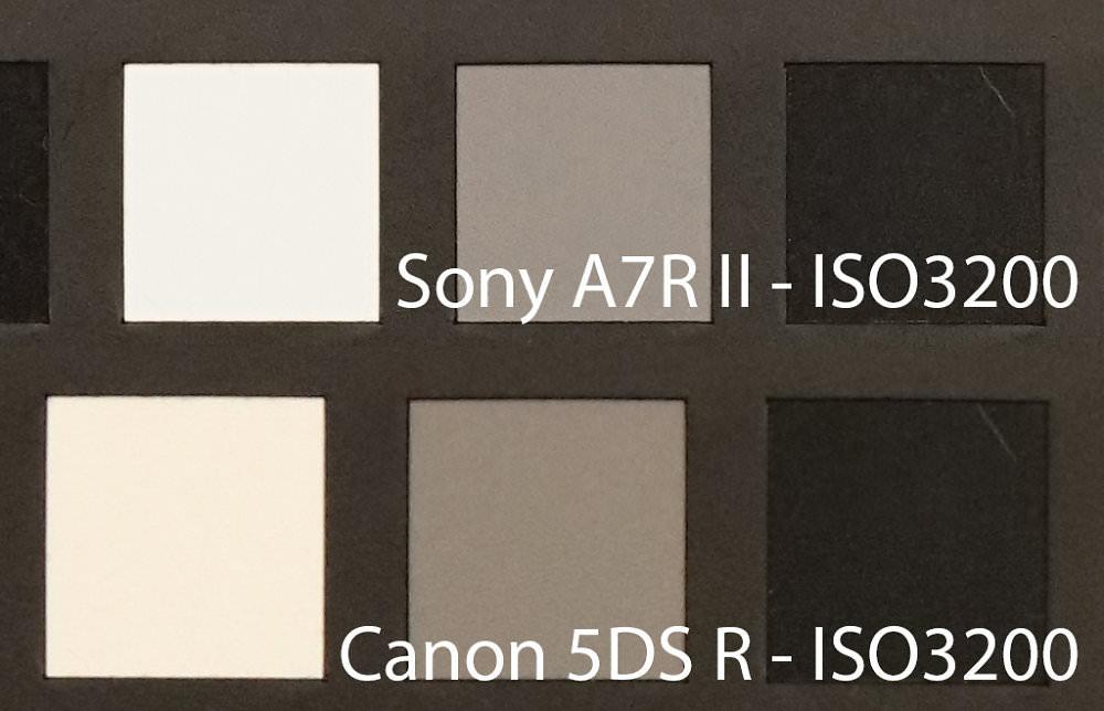 Sony Alpha A7r Ii Iso3200 Canon Eos 5dsr