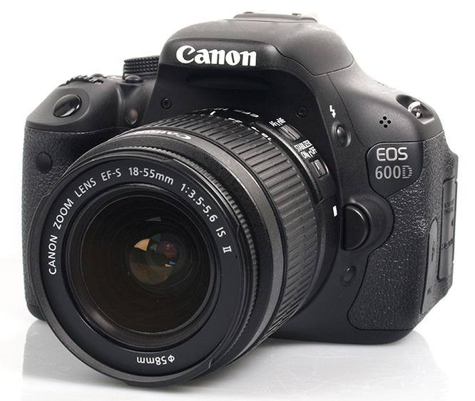 Canon eos 600d digital slr review for Housse canon eos 600d