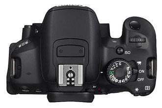 Canon EOS 650D Top