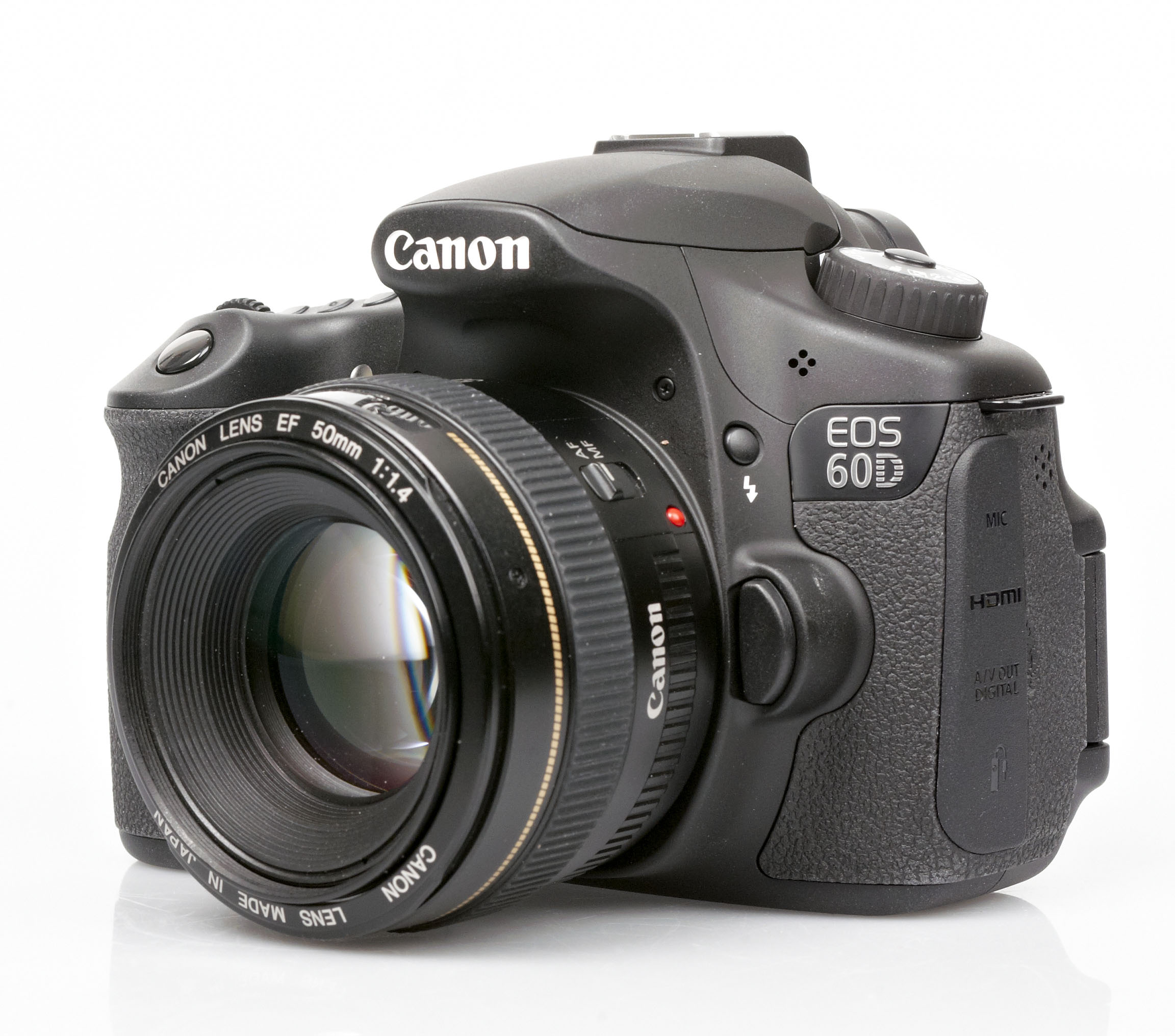 Canon eos 60d side