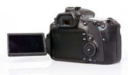 Canon EOS 60D swivel screen