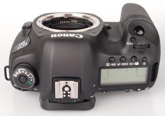 Canon Eos 5d MarkIII Top