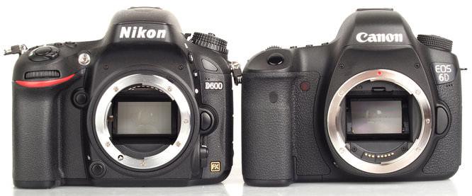 Nikon D600 Vs Canon Eos 6d 1