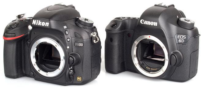 Nikon D600 Vs Canon Eos 6d 7