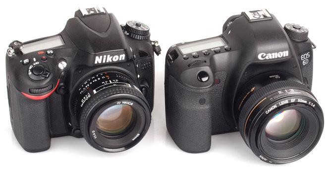 Nikon D600 Vs Canon Eos 6d 8