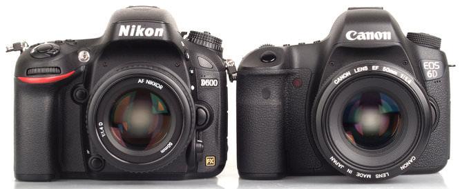 Nikon D600 Vs Canon Eos 6d 9