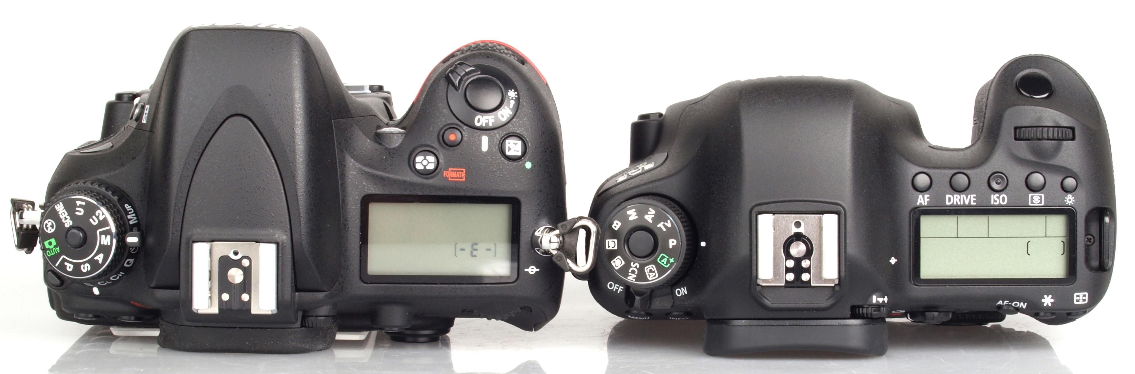 Canon EOS 6D vs Nikon D600 DSLR Comparison Review | ePHOTOzine