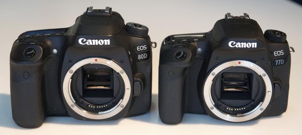 Canon EOS 77D Vs EOS 80D (2)