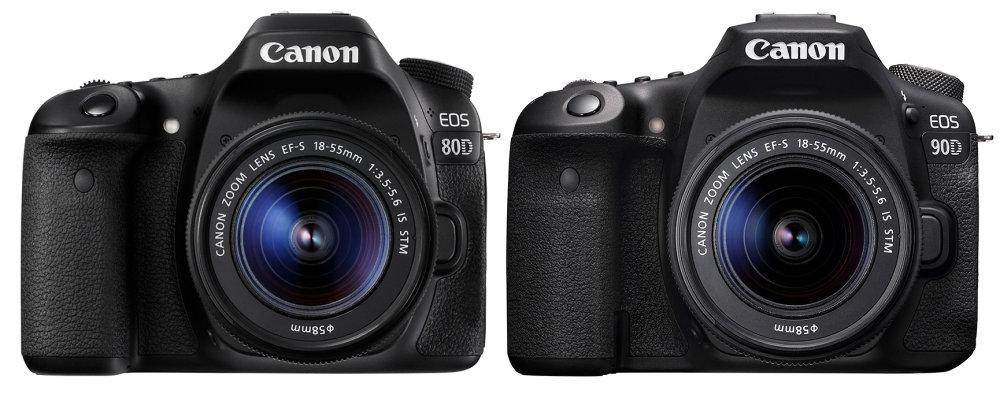 Canon Eos 80d Vs Canon Eos 90d Front