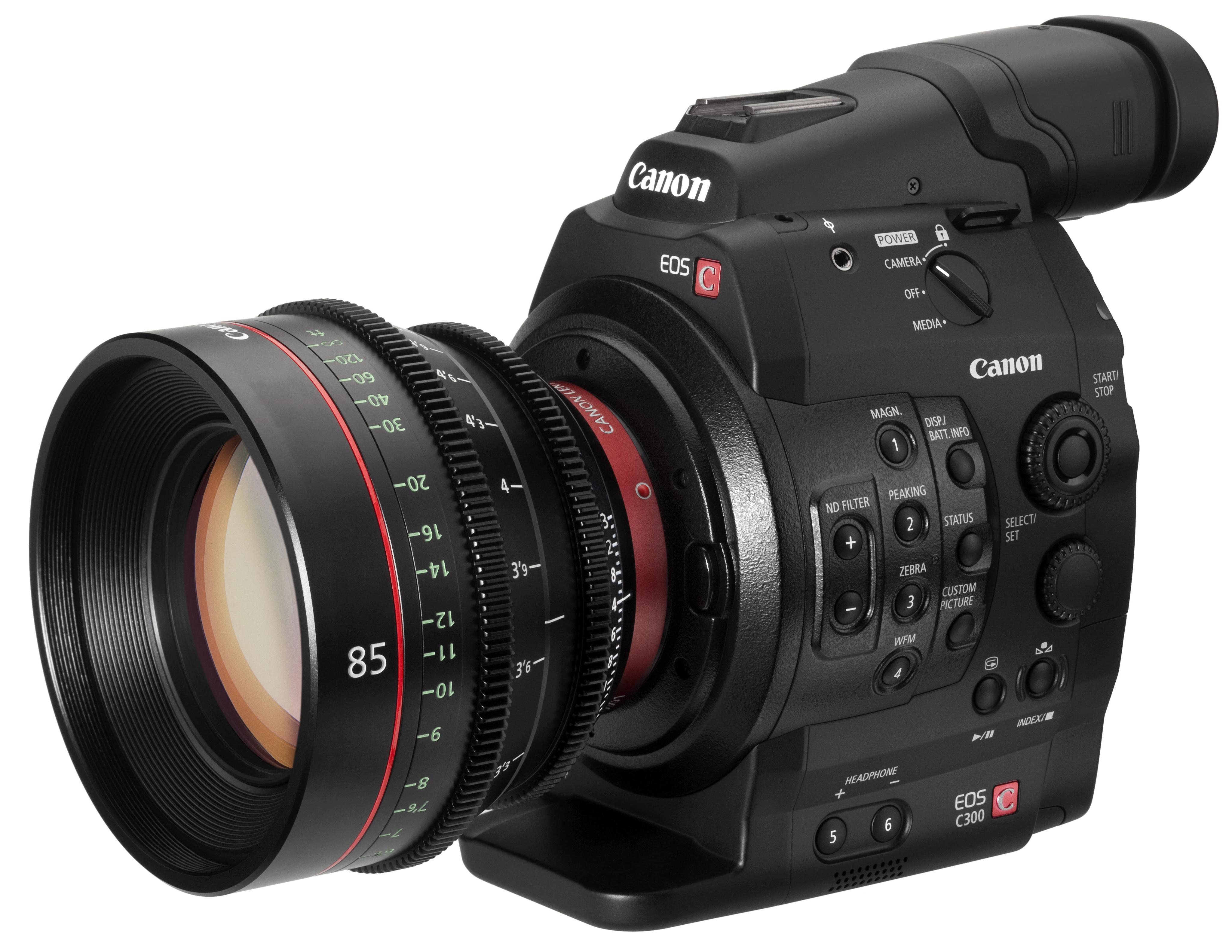 Canon EOS C300 Video Digital SLR Announced