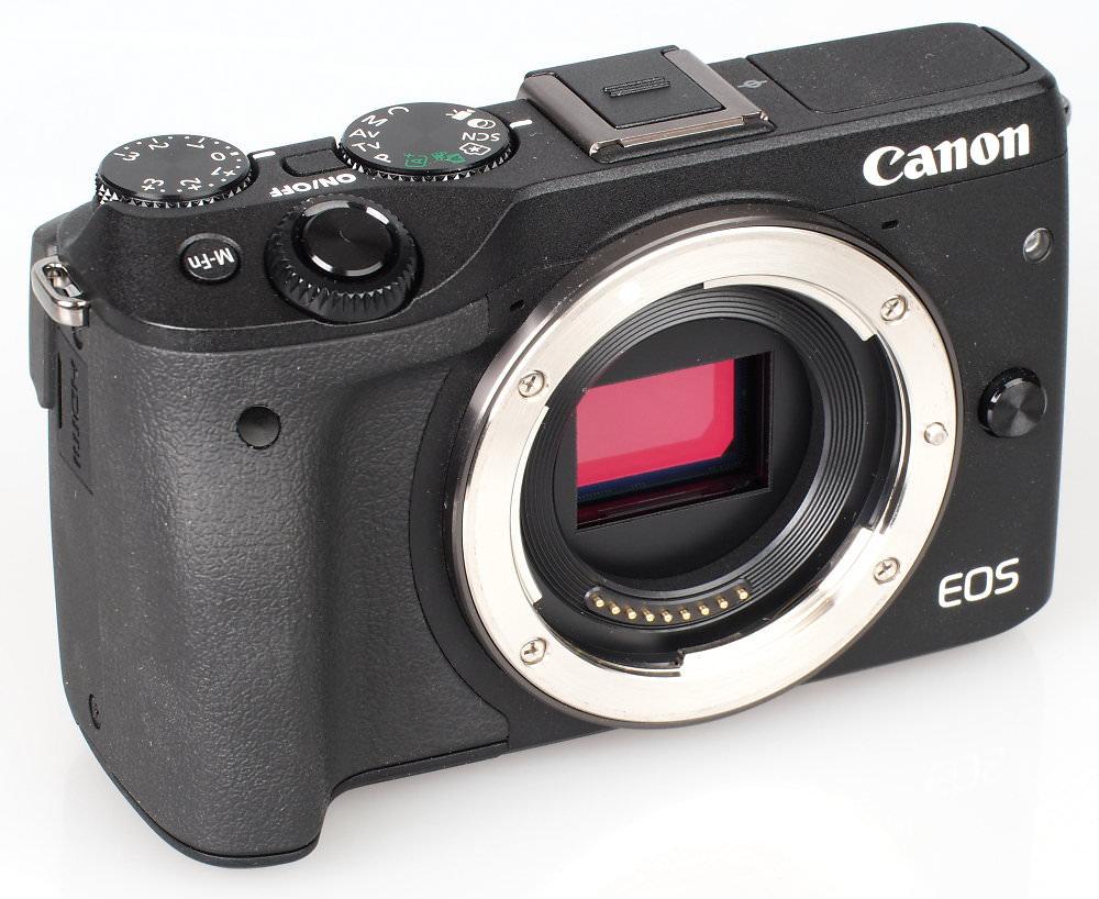Canon EOS M3 Black (1)