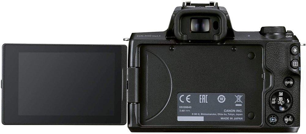 Canon Eos M50 Ii Rear Again