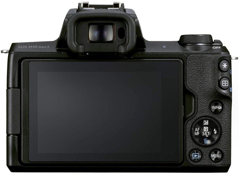 Canon Eos M50 Ii Rear