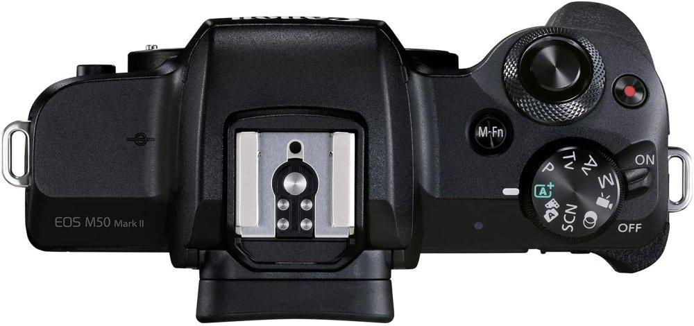 Canon Eos M50 Ii Top