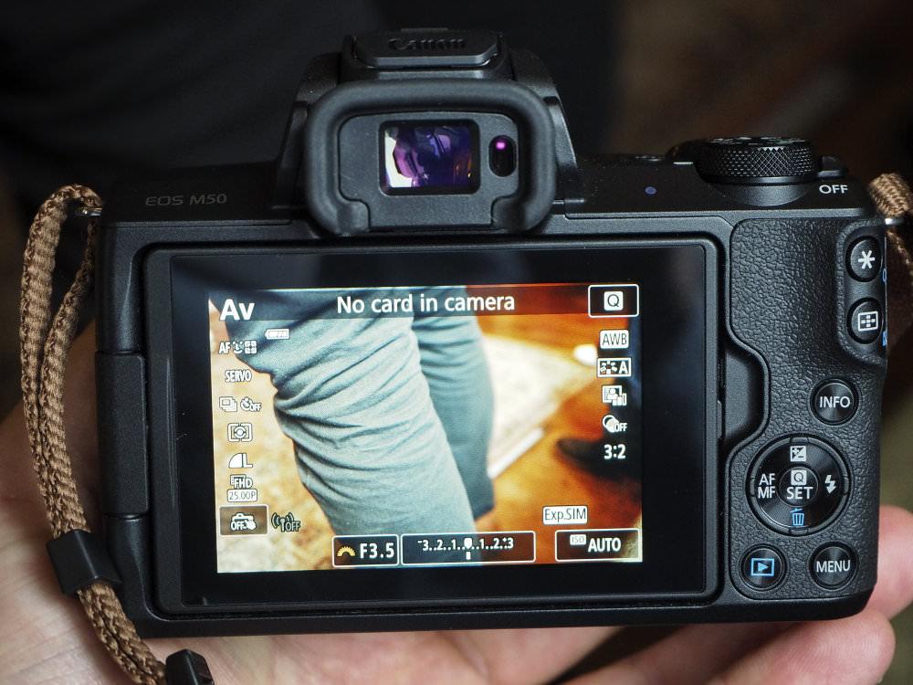 Canon EOS M50 Black 7