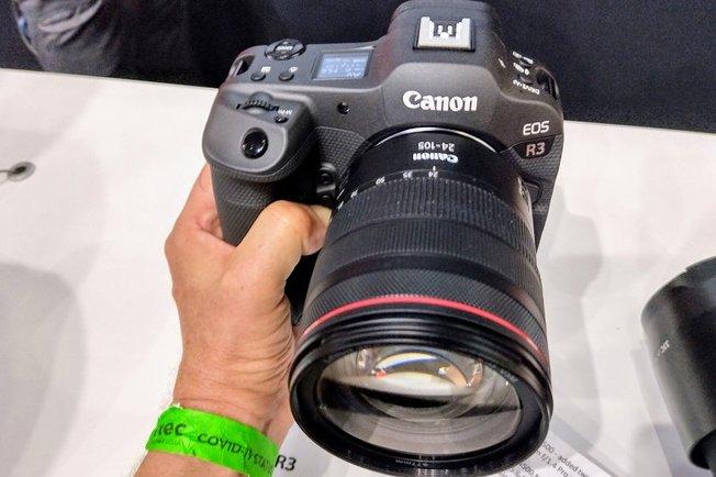Canon EOS R3 Hands-On Photos