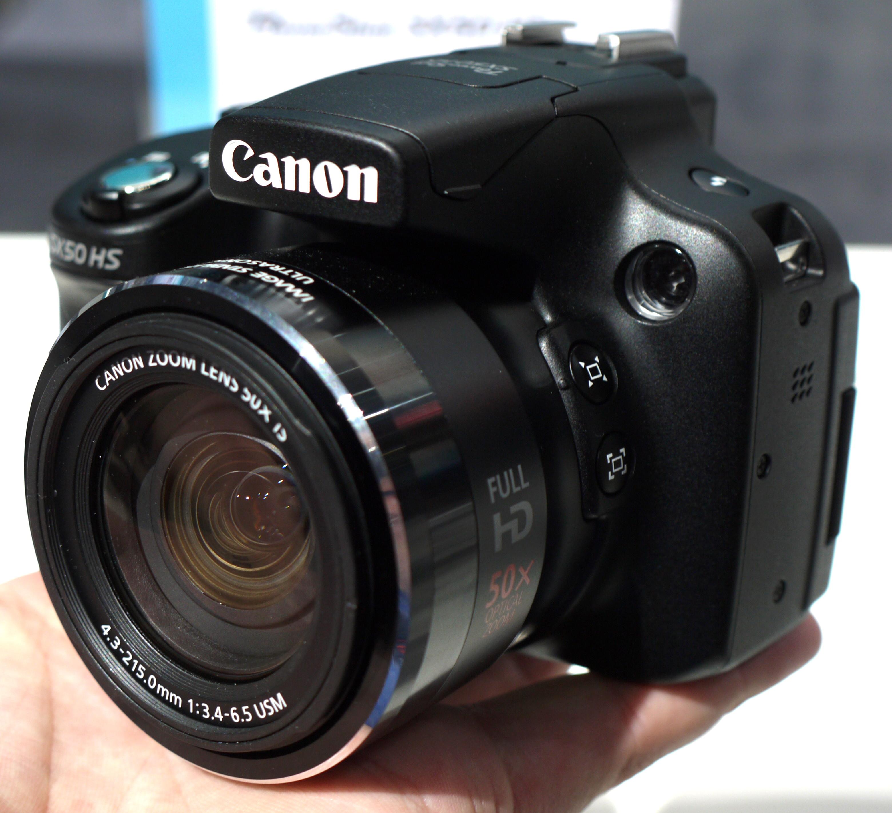 Canon Powershot SX50 Hands-On At Photokina 2012