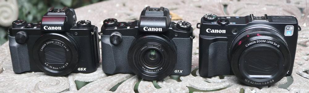 Canon Powershot G5X Vs G1X MarkII Vs MarkIII (3)