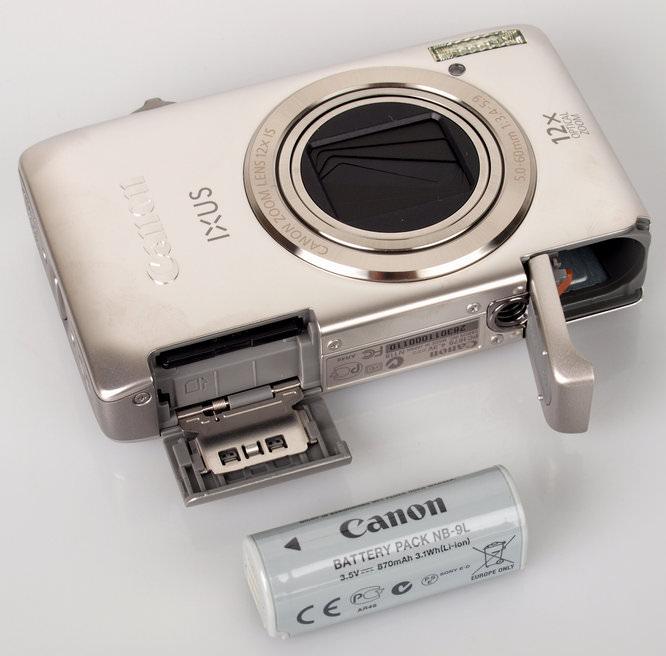 Canon IXUS 1100 HS Battery